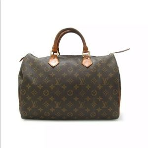 Authentic Louis Vuitton Speedy 35 monogram